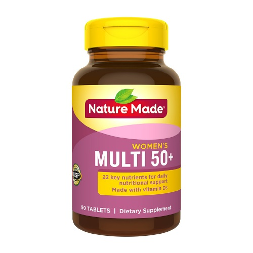 Nature Made 萊萃美 女性復合維生素 50+ 90粒