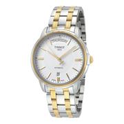 額外6折!Tissot 天梭 T-Classic 系列 金銀雙色男士氣質腕表 T0659302203100