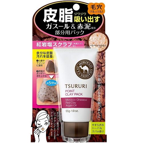【日亞自營】【加購適用】BCL Tsururi 摩洛哥粘土去黑頭鼻膜 55g