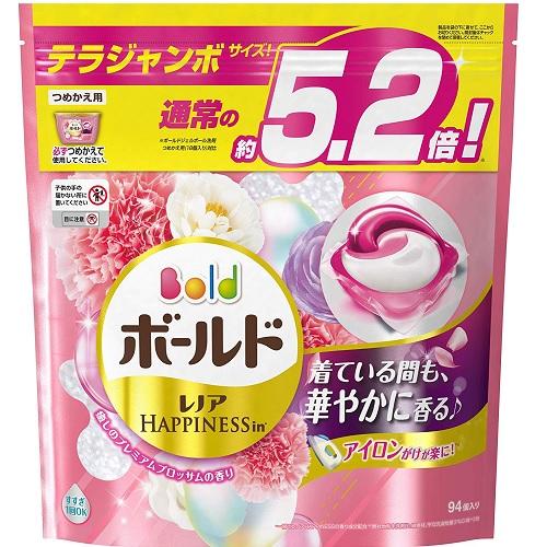 5折!【日亞自營】P&G bold 寶潔 碧浪洗衣凝珠 玫瑰花香 94枚