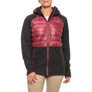2色碼全~Columbia 哥倫比亞 Snowfield Hybrid 女款連帽保暖羽絨服