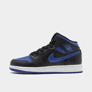 喬丹 Air Jordan Retro 1 Mid 大童藍黑籃球鞋