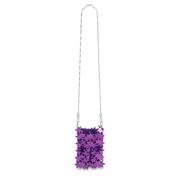 PACO RABANNE 紫色單肩包