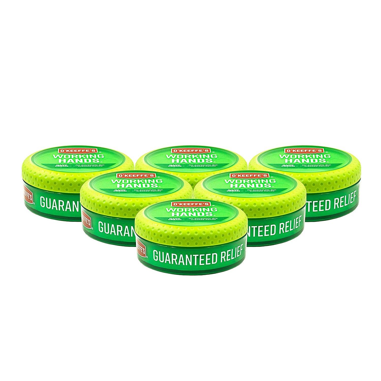 【中亞Prime會員】OKeeffes/O'Keeffe's 奧基夫 特效工作修復滋潤護手霜 96g*6罐