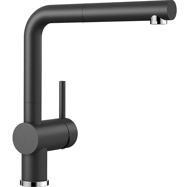 【中亞Prime會員】Blanco 鉑浪高 Linus-S系列 516698 可抽拉式廚房龍頭