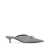 "BALENCIAGA 40毫米""KNIFE""格紋新羊毛穆勒鞋"