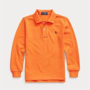 Ralph Lauren 拉夫勞倫 Cotton Mesh 2-7歲男童Polo衫