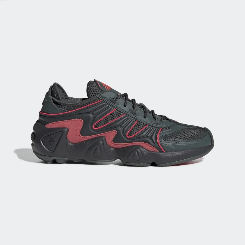滿$20額外8折!ADIDAS ORIGINALS 阿迪達斯 FYW S-97 皮革絨面革網眼運動鞋