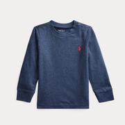 Ralph Lauren 拉夫勞倫 Cotton Jersey 嬰兒長袖T恤