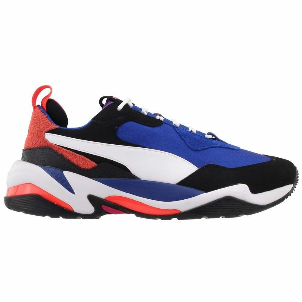 Puma 彪馬 Thunder 藍色拼色男士老爹鞋