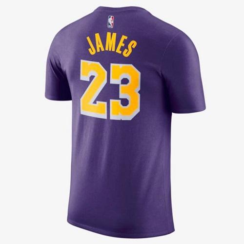 Nike 耐克 NBA 老詹23號 男子T恤