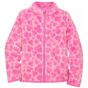 Disney 迪士尼 粉色拉鏈搖兒童外套