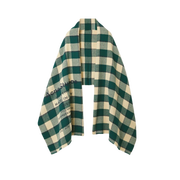 ACNE STUDIOS Cassier 格紋羊毛圍巾