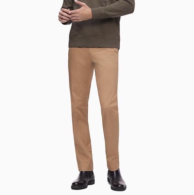 Calvin Klein 官網 男士休閑西裝褲
