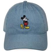 Disney 迪士尼 米奇牛仔藍色棒球帽