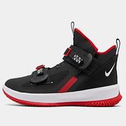 Nike 耐克 LeBron Soldier 13 男子籃球鞋 黑紅