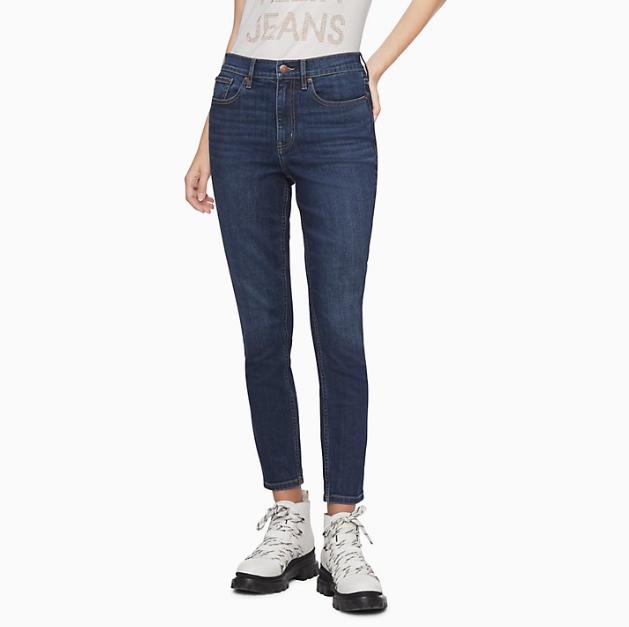Calvin Klein 官網 女士修身牛仔褲