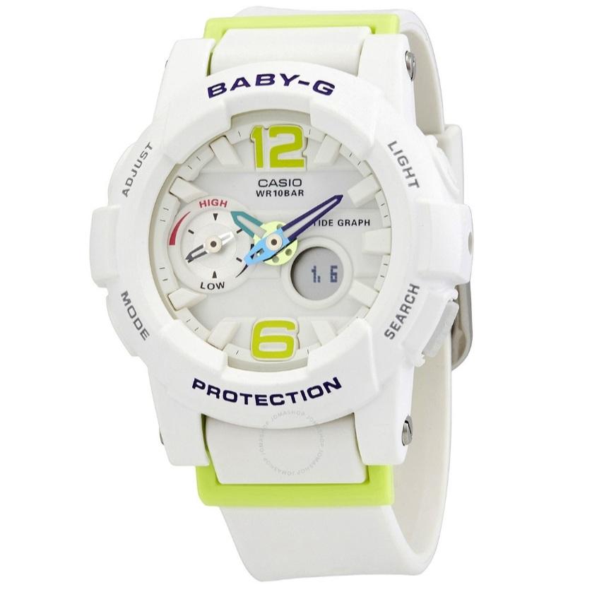 【55專享】Casio 卡西歐 Baby-G 系列 白色運動腕表 BGA-180-7B2DR