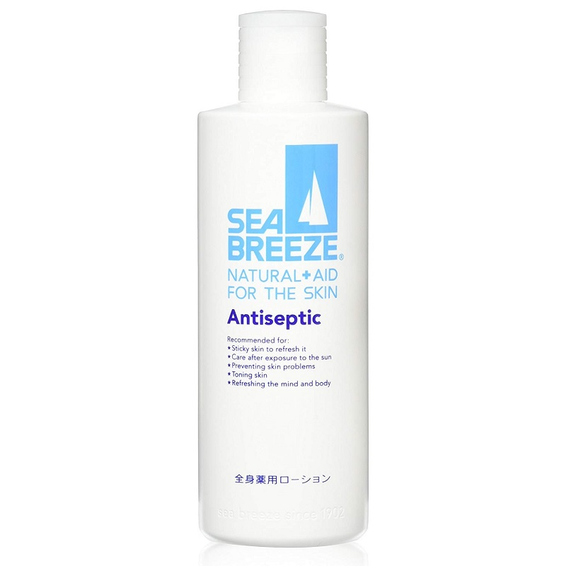 【日亞自營】Sea Breeze 海帆 全身藥用爽膚水 230ml