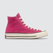 Converse Chuck 70 玫粉高幫帆布鞋