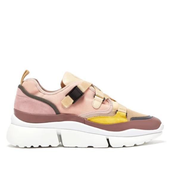 CHLOé Sonnie raised-sole 女款運動鞋