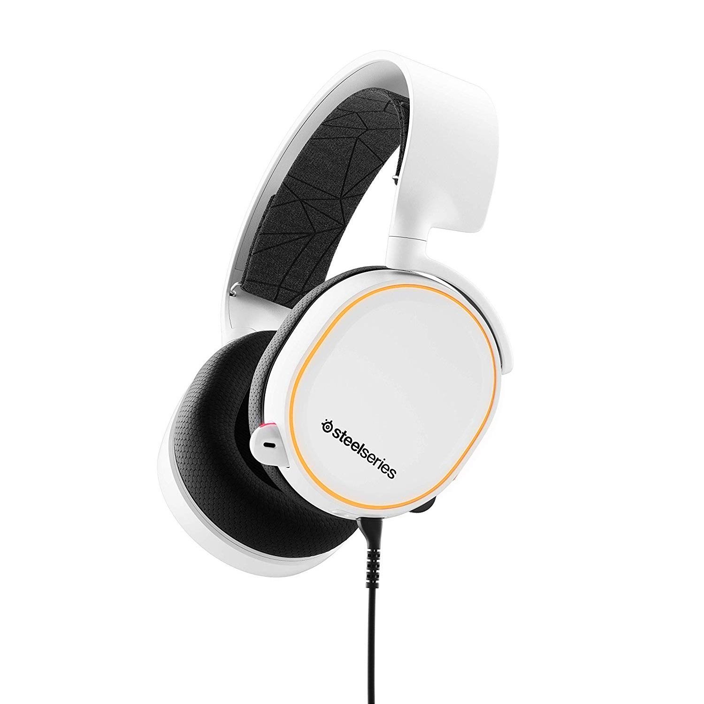 【中亞Prime會員】SteelSeries 賽睿 Arctis 7 寒冰 游戲耳機 白色