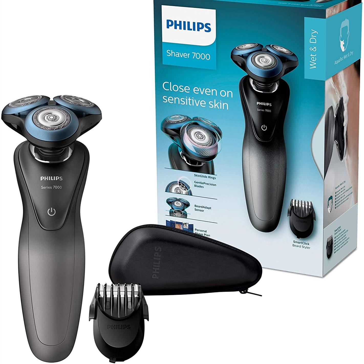 【中亞Prime會員】Philips 飛利浦 S7960/17 電動干濕兩用剃須刀 7000系列