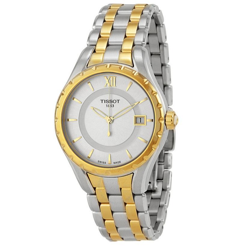 【55專享】Tissot 天梭 T-Lady 系列 金銀雙色女士氣質腕表 T072.210.22.038.00