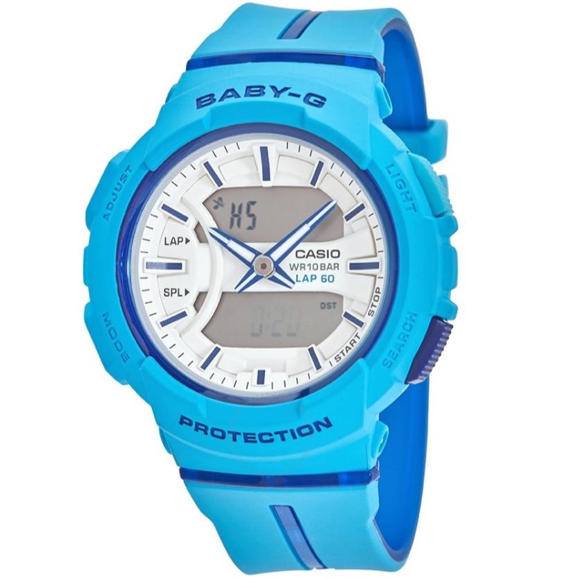 【55專享】Casio 卡西歐 Baby-G 系列 藍色女士運動腕表 BGA-240L-2A2DR