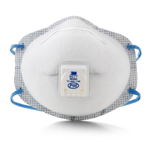 【中亚Prime会员】3M 8577 含Nuisance 水平有机蒸汽 口罩 10个装