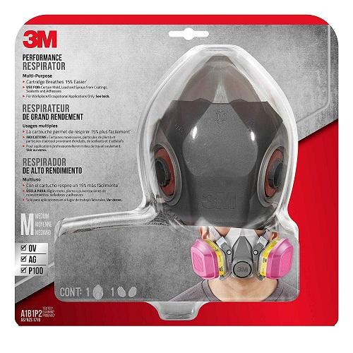 【中亚Prime会员】3M 专业有机蒸气防护面具