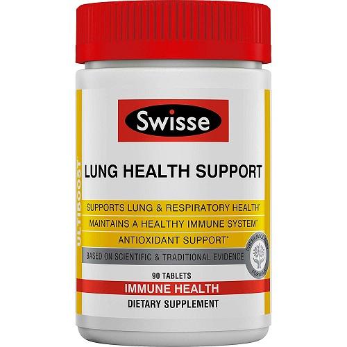 【中亚Prime会员】Swisse 肺健康支持片 90片