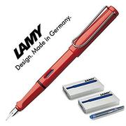 【此款包稅】LAMY 凌美 狩獵者系列鋼筆 筆尖M 帶墨膽 1支筆+10支筆芯