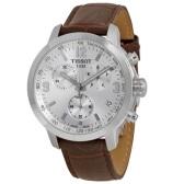 額外立減$80!Tissot 天梭 PRC 200 系列 銀棕色男士氣質腕表 T055.417.16.037.00
