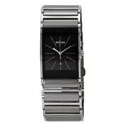 【55專享】Rado 雷達表 Integral 系列 黑色陶瓷男士氣質腕表 R20784159