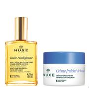 【滿£88立減£8】NUXE 歐樹 植物鮮奶中性肌膚兩件套裝 鮮奶霜50ml+精油30ml