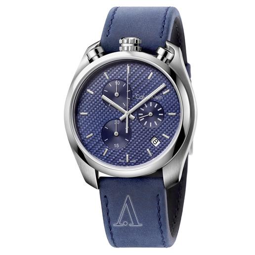 Calvin Klein 卡爾文·克雷恩 Control 系列 藍色男士時裝腕表 K6Z371VN