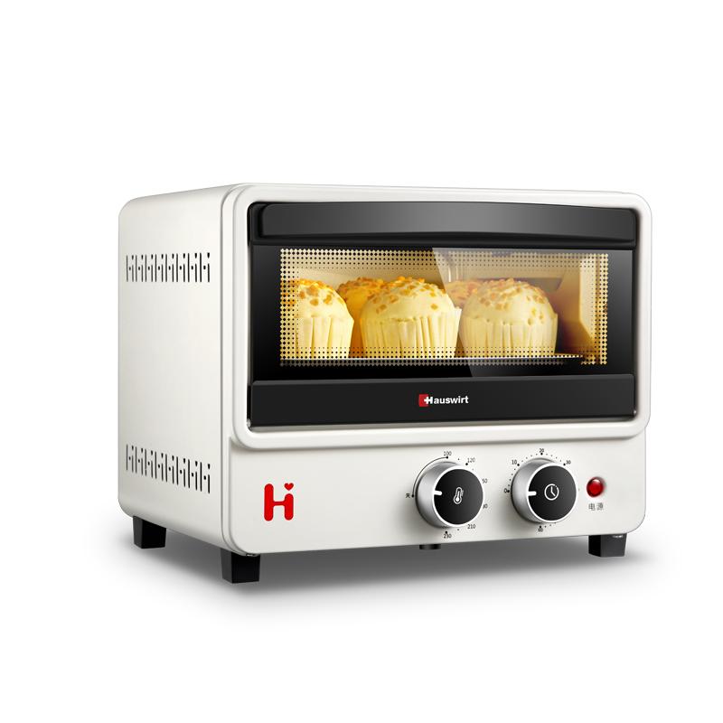 【返利21.6%】海氏 B08家用小型烤箱 12升