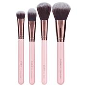2.5折!Luxie 玫瑰金粉色面部化妝刷套裝