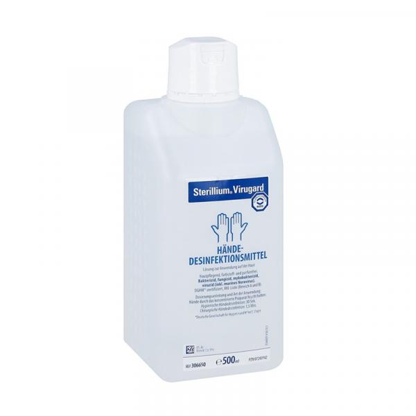 【包稅】【限量補貨】Bode Sterillium Virugard系列滅菌消毒洗手液 (醫用)500ml