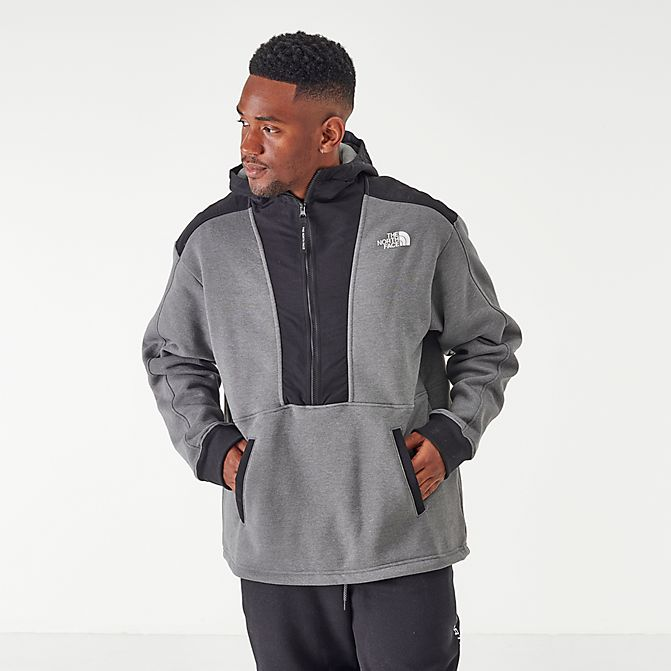 The North Face 男士拼接連帽衛衣