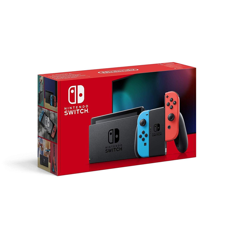 【中亞Prime會員】Nintendo 任天堂 Switch 紅藍版續航升級版游戲機