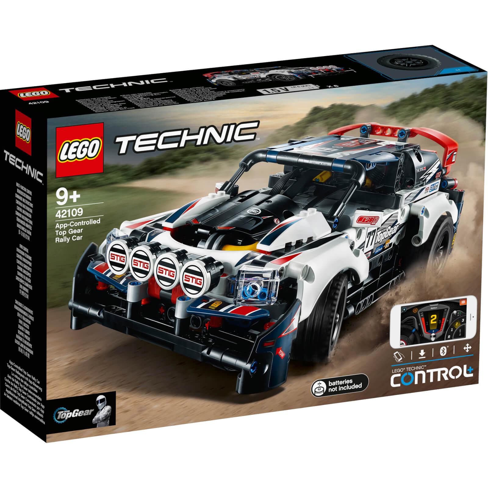 LEGO 樂高 Technic: App 控制 Top Gear Rally Car (42109)