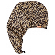 7折+送發圈!Aquis X Poosh 限量豹紋吸水干發帽