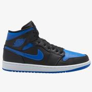 【降價!碼全】喬丹 Air Jordan 1 Mid 男子籃球鞋 皇家藍
