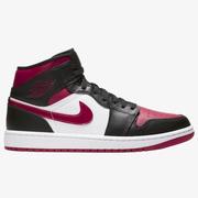 【降價】喬丹 Air Jordan 1 Mid 男子籃球鞋 黑紅腳趾