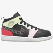 【額外7折】喬丹 Air Jordan 1 Mid 中童款籃球鞋 線條