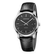 降價!Calvin Klein 卡爾文·克雷恩 Infinite 系列 銀黑色男士機械腕表 K5S341CZ