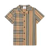 【14碼還有】Burberry 博柏利 Boy's Jay 大童短袖襯衫 3-14歲