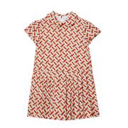 【14碼還有】Burberry Girl Lenka Monogram 真絲大童連衣裙 3-14歲